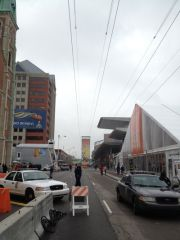 Zipline at Super Bowl Village