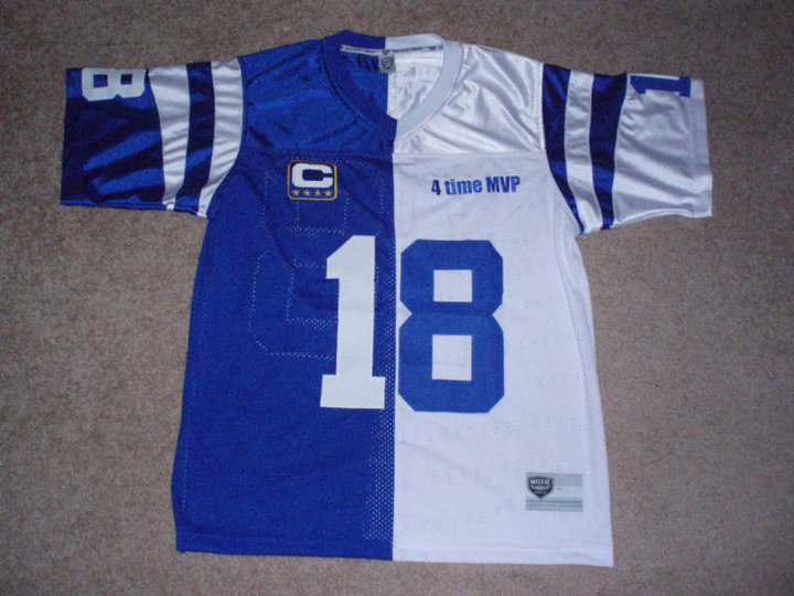 outlet store 9a416 30d69 My 2 sided split Peyton Manning jersey - Member's Album ...