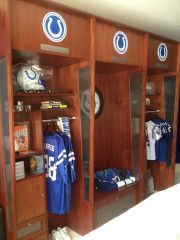 Replica Colts locker room