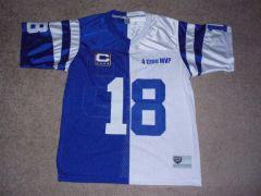 My 2 sided split Peyton Manning jersey