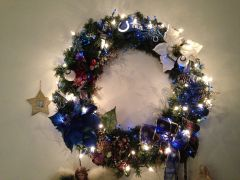 Colts wreath!