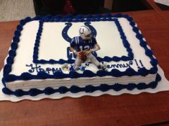 Colts Cake, Dec 2012